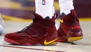 球员实穿:詹姆斯上脚Nike LeBron Soldier 11【今日信息】